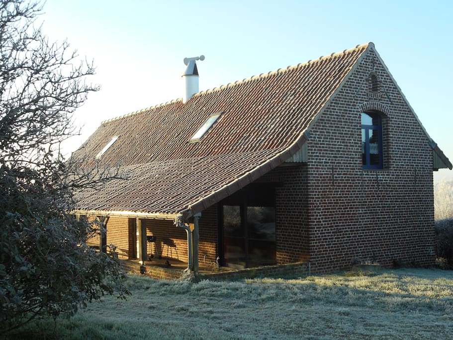 G te le s choir houblon nature lodges for rent in for Lodges in france