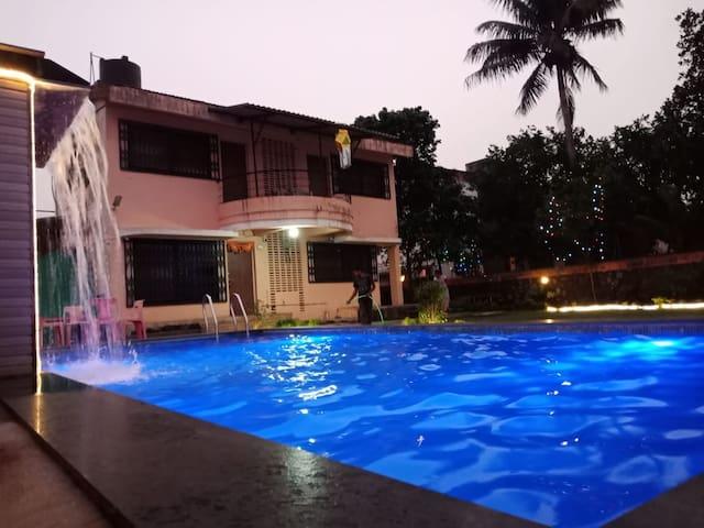 4 BHK Private Pool Villa Lonavala- Mannat VSL