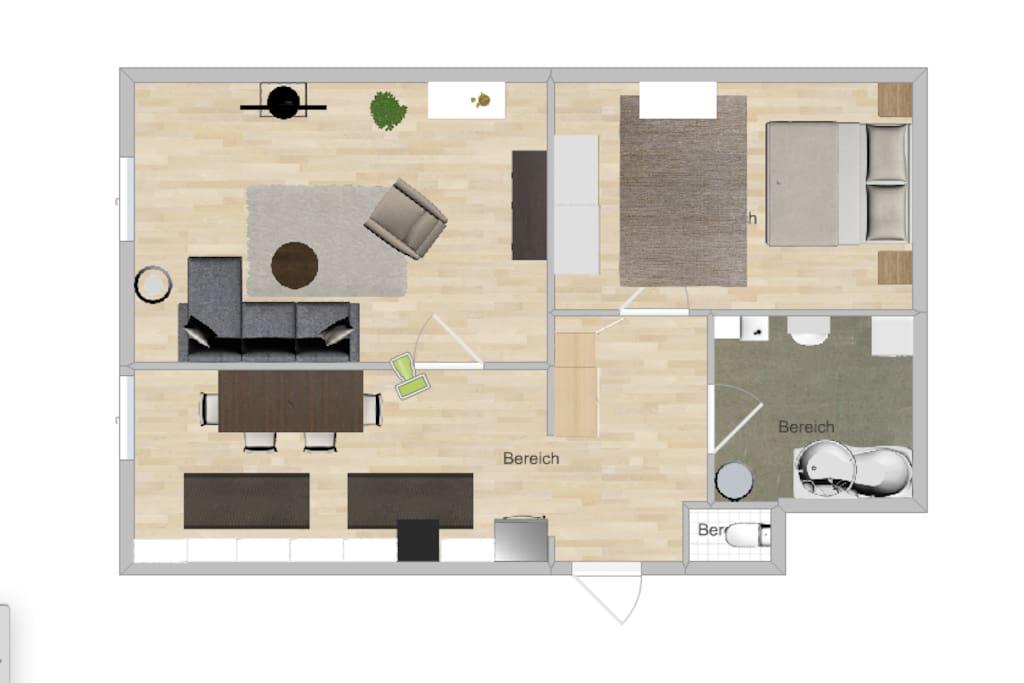Floor plan - Grundriss