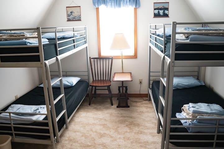 Second floor bunk room #1