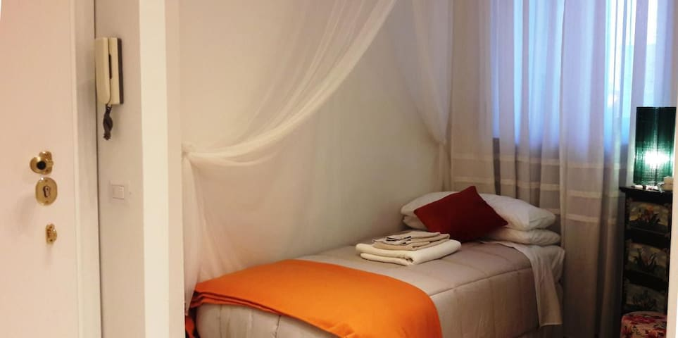 Double room 200 meters from the Lake.