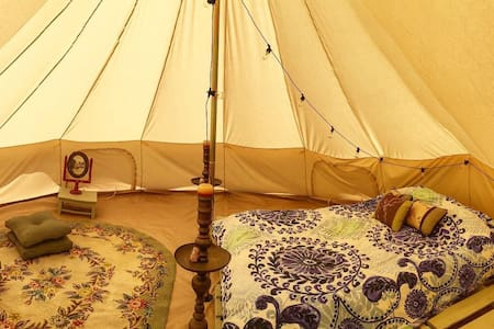 Hakima Glamp Tent @ West Winds