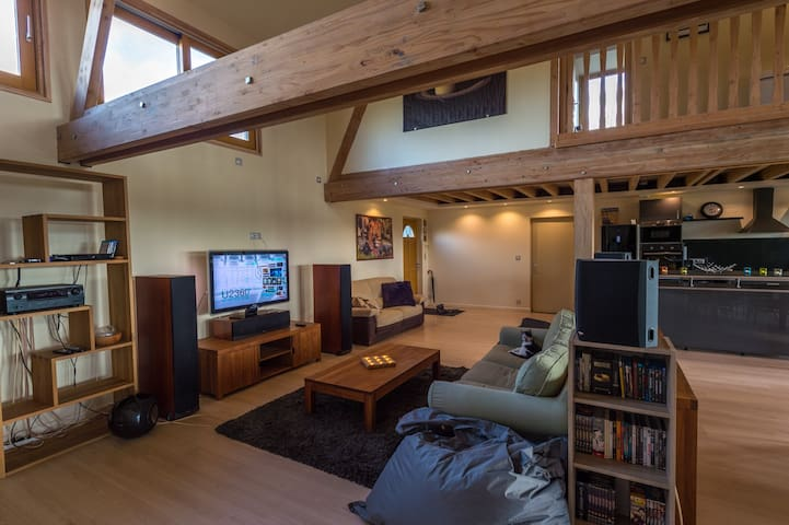 location chambre dans superbe maison - Les Barils - Casa