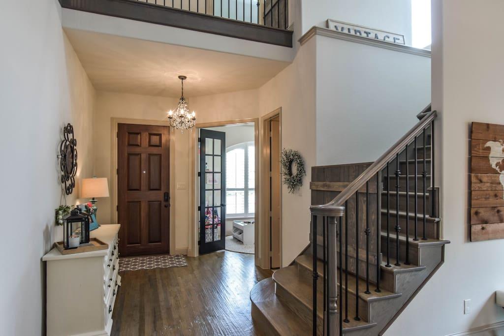 Front Door, Stairs