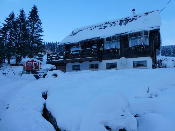 Chalet with 3 bedrooms in Ban-sur-Meurthe-Clefcy, with wonderful mountain view, furnished garden and WiFi - 500 m from the slopes