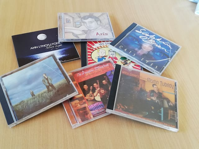 Selection of Music CD's to relax with