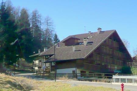 In a quiet area near the centre of Dimaro, with scenic views