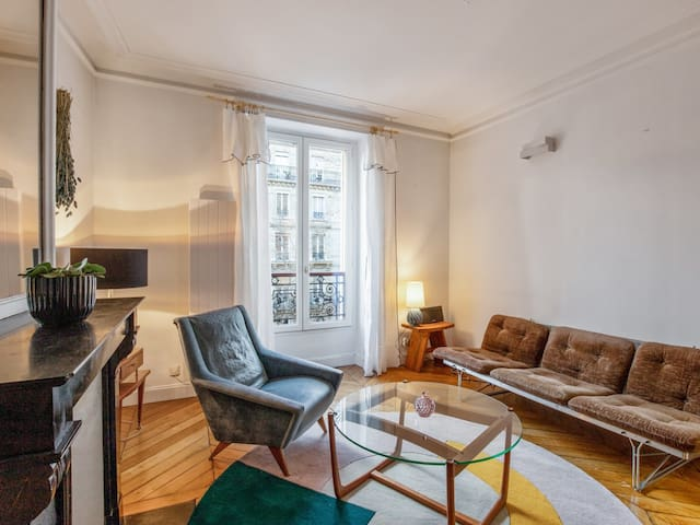 Design and cosy flat close to Montmartre in Paris - Welkeys