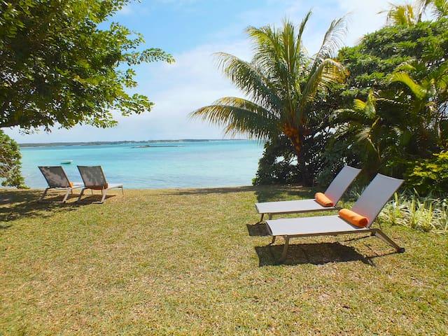 Charming beach front Villa CHAZAL. - Belle Mare - Villa