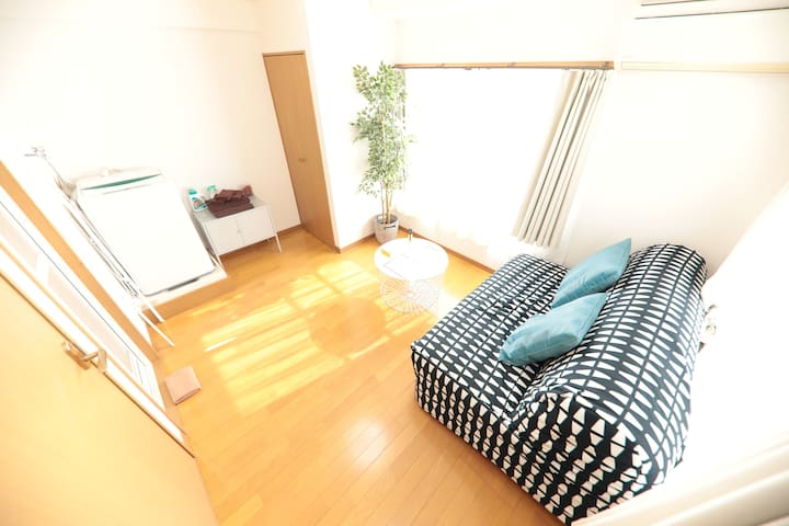 Gion Sanjyo River side 2Bd for 4PAX with Free wifi