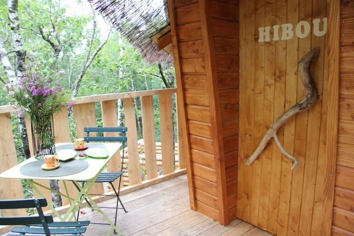 Cabane perchée  HIBOU
