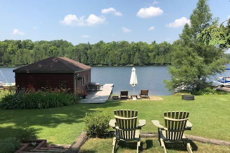 Balsam Lake Cottage with additional Guest Chalet