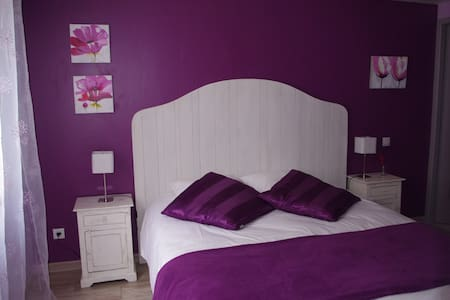 chambre parme - Saintes - Bed & Breakfast
