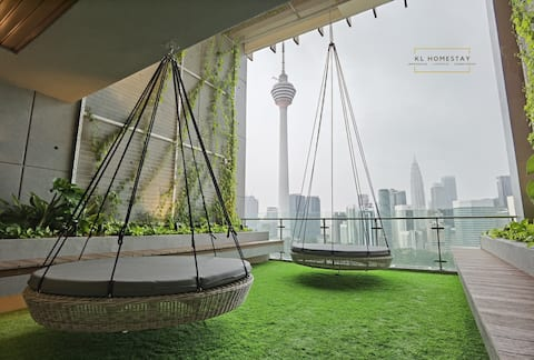 【HOT】Urban SUITES@KL Tower with soft&warm couch