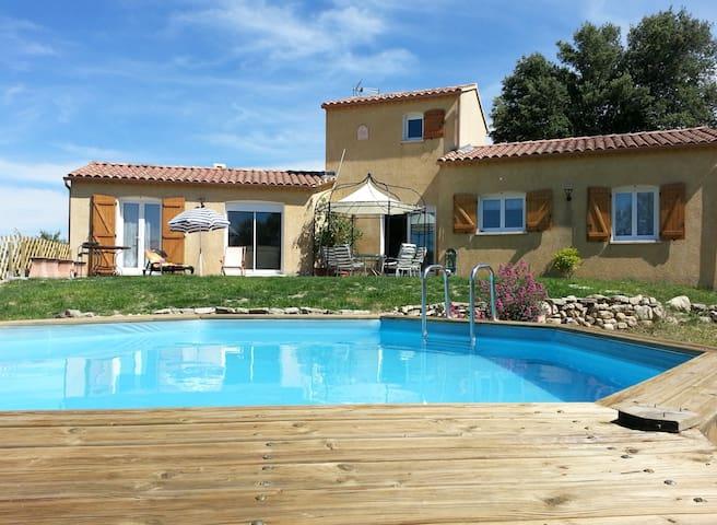 Villa au pied du Ventoux 7 couchages - Saint-Pierre-de-Vassols - Huvila