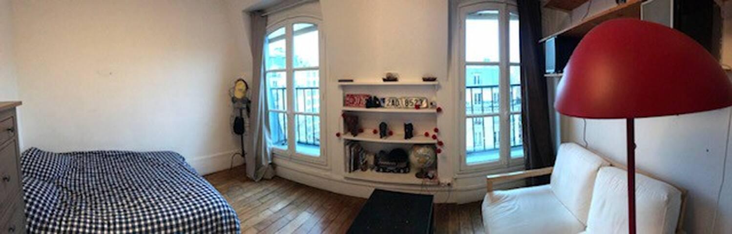Belle chambre près des Buttes Chaumont