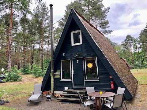 Finnhütte Wilma mit Zugang zu Privatstrand