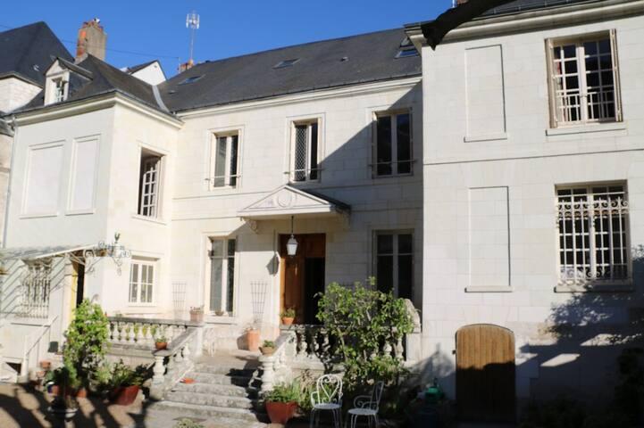 Chambres d'hôtes vue Loire et Château d'Amboise