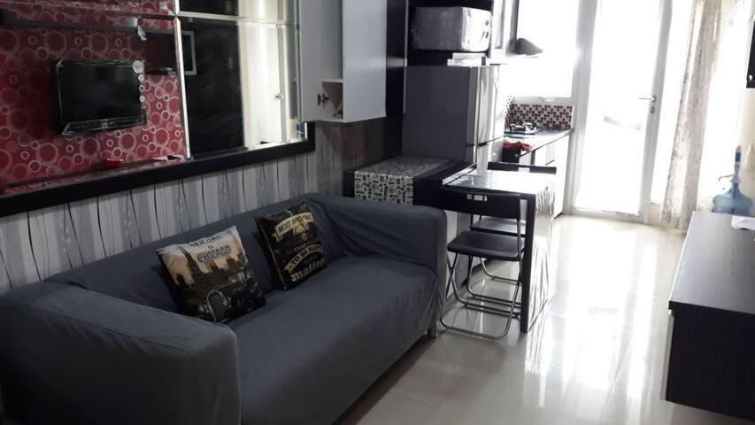 Cozy 2BR Apartment in Bintaro