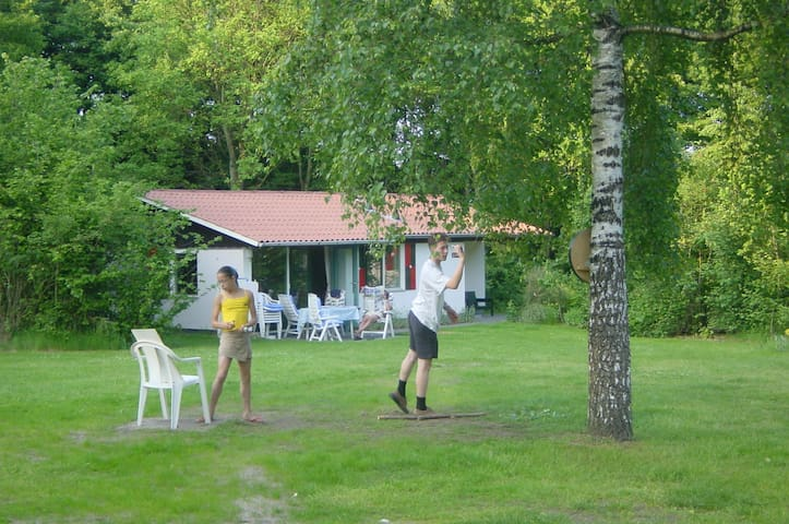 Vakantiebungalow op rustig park - Exloo
