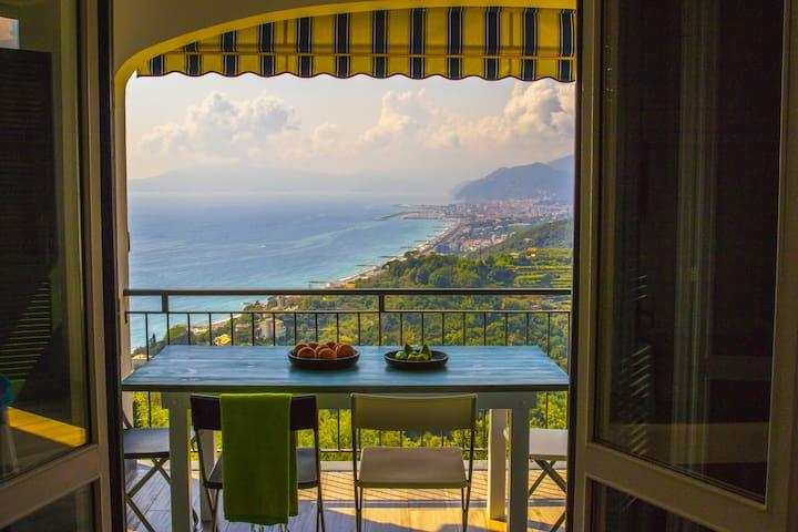villa panoramica vicino Sestri Levante
