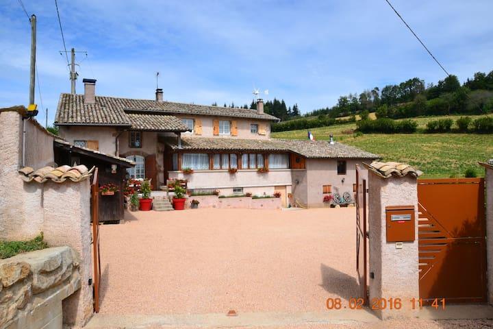 Chambre Cosy - Vauxrenard - Apartment