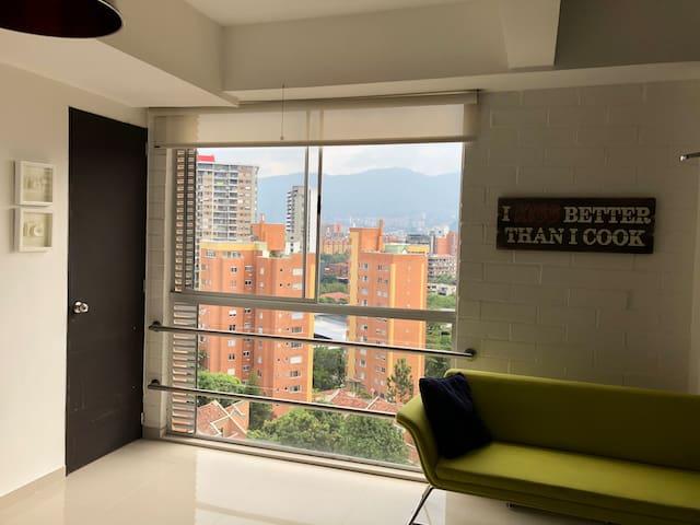 Apartamento tipo Loft, El Poblado, Medellín
