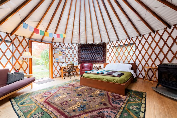 The 36th Street Urban Yurt, in Large Garden Oasis