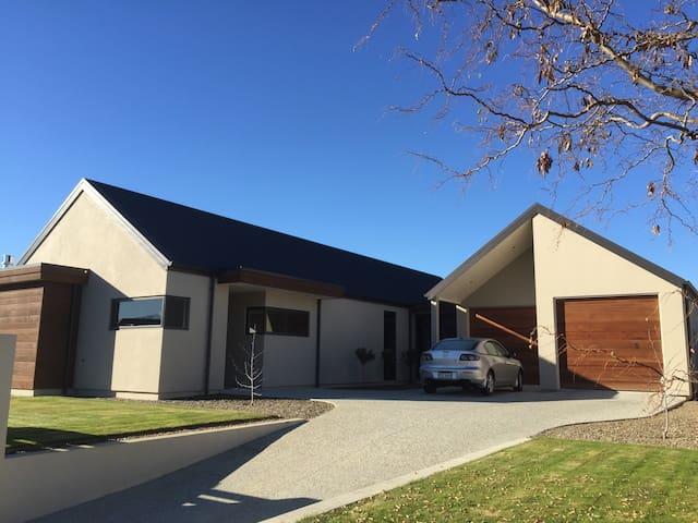 Warm modern house in Central Otago - Alexandra - Rumah