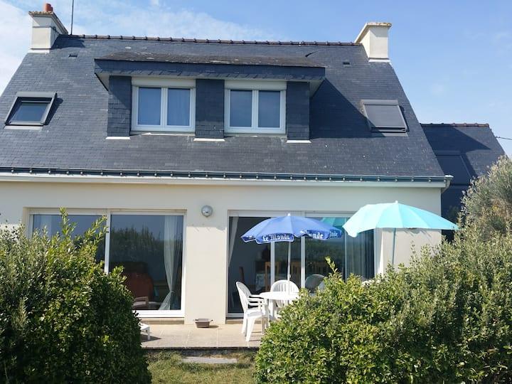 Damgan, Bretagne Sud, villa accès direct plag
