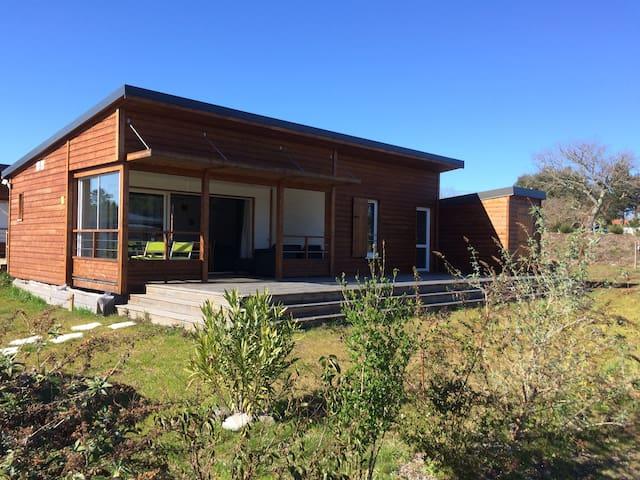 Casa Lenha, Chalet 49 m² climatisé (n°7) à Tosse