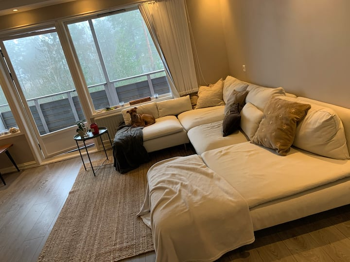 Modern Minimalist Apartment 10 min from Central