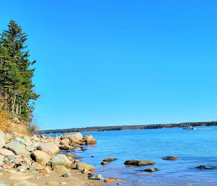 Acadia Private Beach Experience