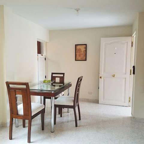 Cómodo y acogedor apartamento en  chia. 101.