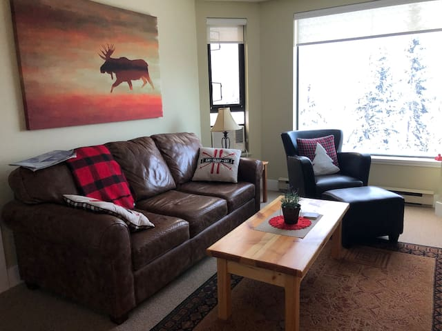 Slopeside nest Blackcomb: Great View; Great Value!