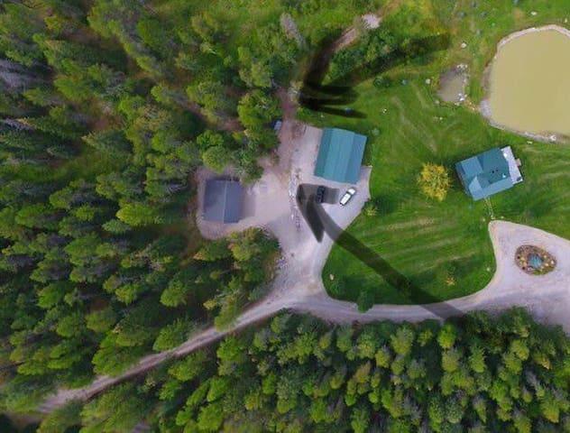 RV Campsite Private/secluded Bigfork Montana