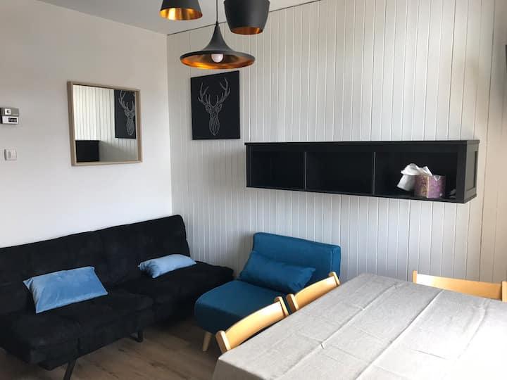 Appartement cosy et fonctionnel avec vue montagne