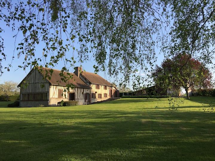 Propriété du XVIIème siècle Longère Normande
