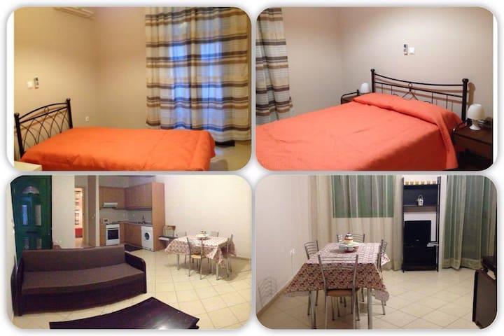 Διαμέρισμα 75τ.μ. πάνω στην παραλία - Egina