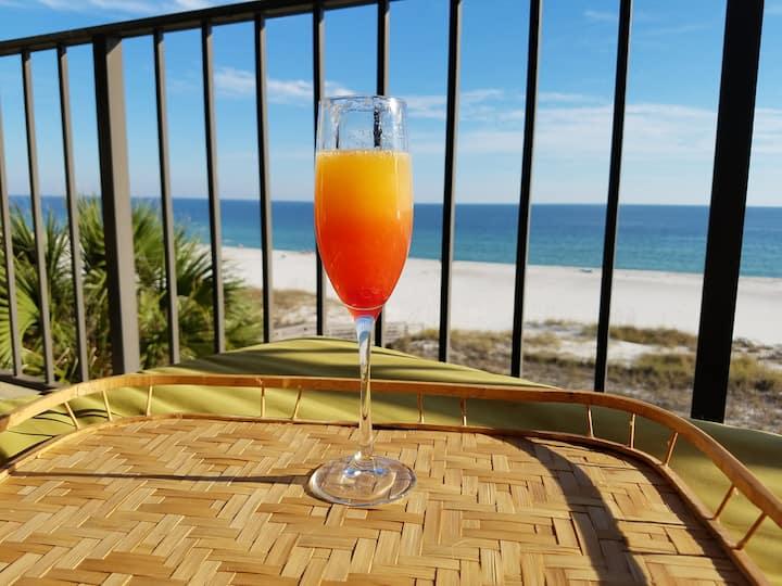 Beach Front Condo in Perdido Key!  New Listing!