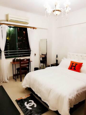 007超大总统甜蜜双人套房只要128元(限定12+1+2月份)清洁费另计需订15晚以上