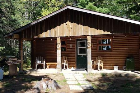 Indian Island Riverside Log Cabin #4