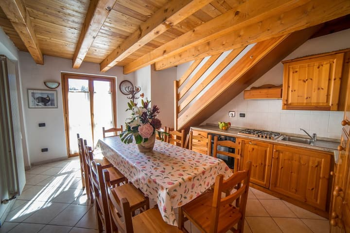 Apartment with five rooms in Antey St. Andrè