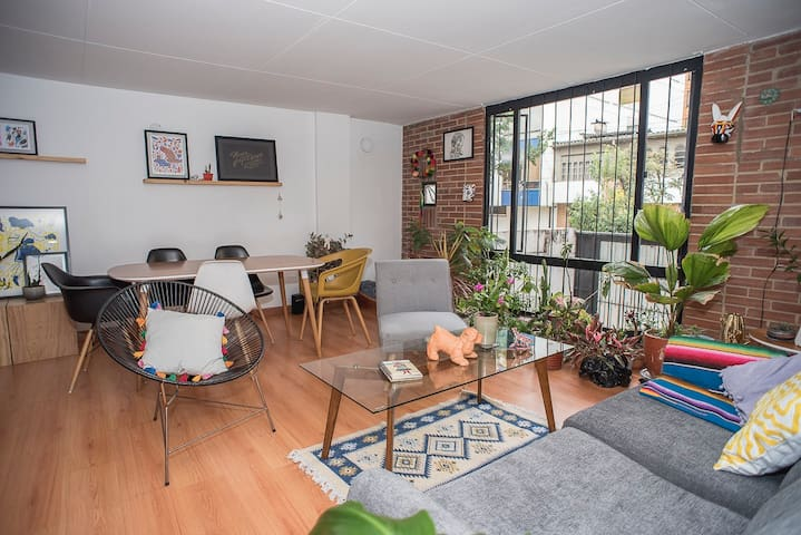 EL VIRREY Cozy and modern private room