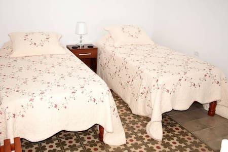 Bedroom 1 - 2 single beds