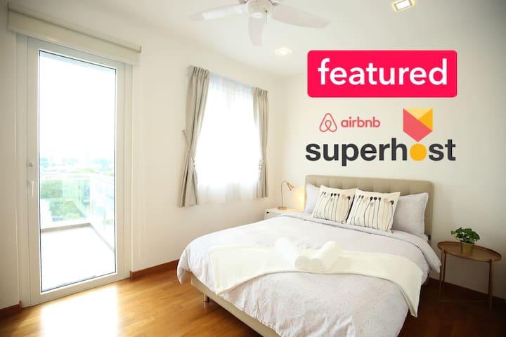 4BR 1600sft Duplex 复式公寓 @ Singapore Downtown