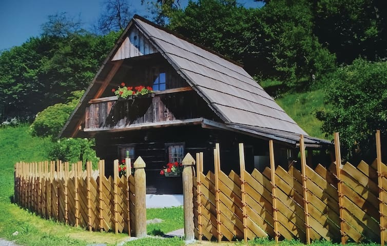 Holiday cottage with 1 bedroom on 48m² in Prevalje