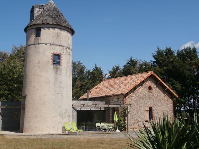 Gîte en Anjou, dans un ancien moulin