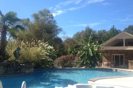 Private poolside suite in Rock Hill - Rock Hill - Apartment