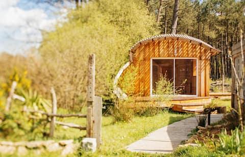 Cabane en bois écologique et confortable